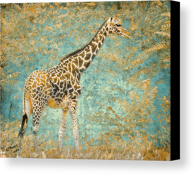 Pittsburgh Zoo Canvas Print featuring the photograph Reticulated by Arne Hansen