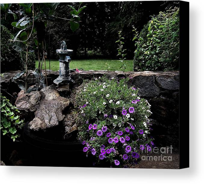 Porch Canvas Print featuring the photograph Scotopic Vision 2 - The Porch by Pete Hellmann