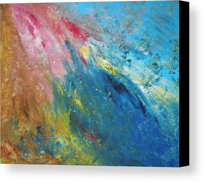 Inner World Canvas Print featuring the painting Steadfast by Christine Martin