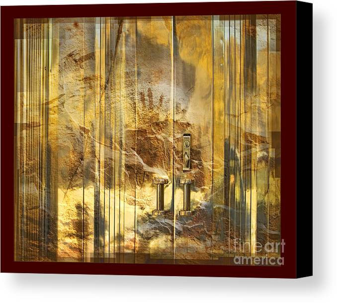 Conservation Canvas Print featuring the digital art The Hands Of Time by Chuck Brittenham