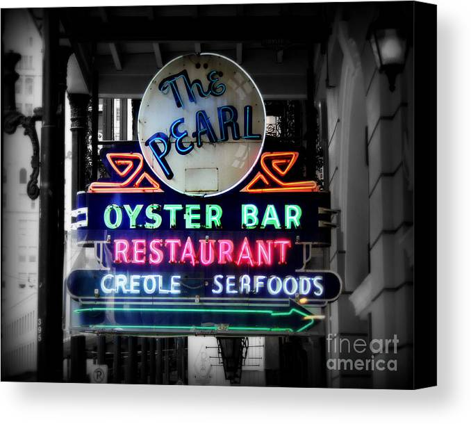 New Orleans Canvas Print featuring the photograph The Pearl by Perry Webster