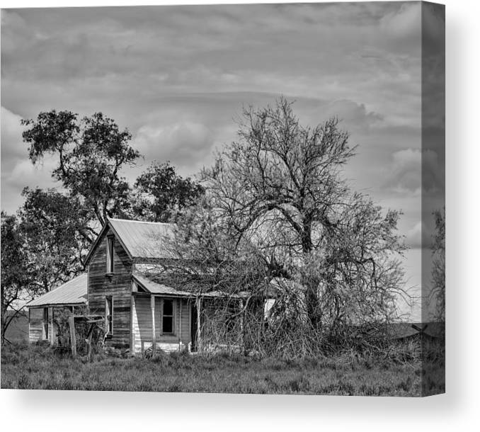 2013 Canvas Print featuring the photograph Abandoned Farm House - A Rd Sw - Douglas County - Washington - May 2013 by Steve G Bisig