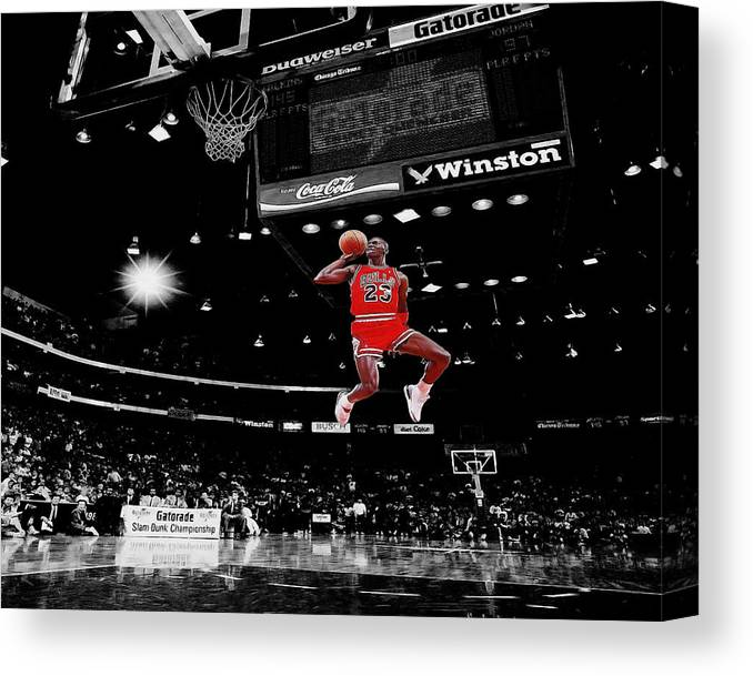 13bff2f7db8787 Air Jordan Canvas Print   Canvas Art by Brian Reaves