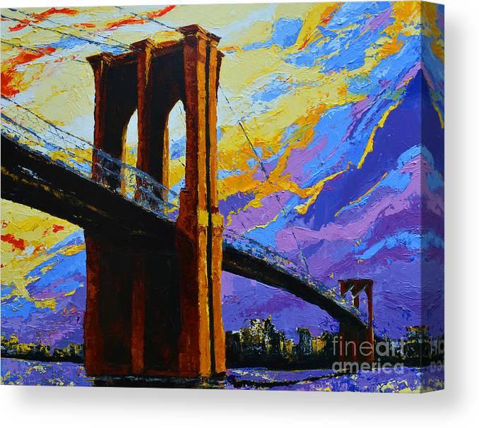Brooklyn Bridge New York Landmark Canvas Print
