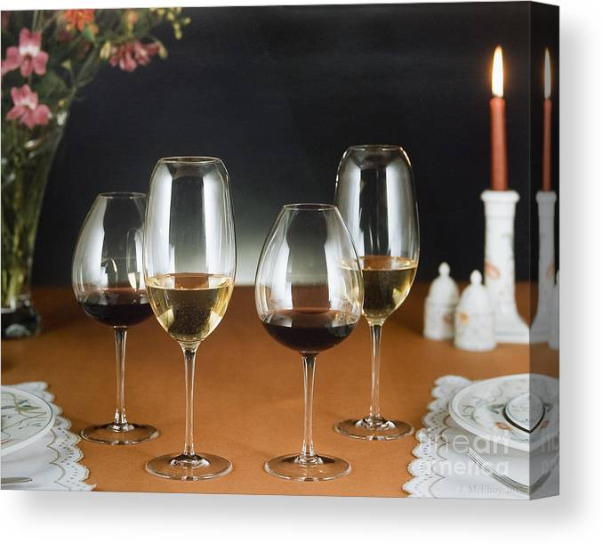 Wine Canvas Print featuring the photograph Choices by Jerry McElroy