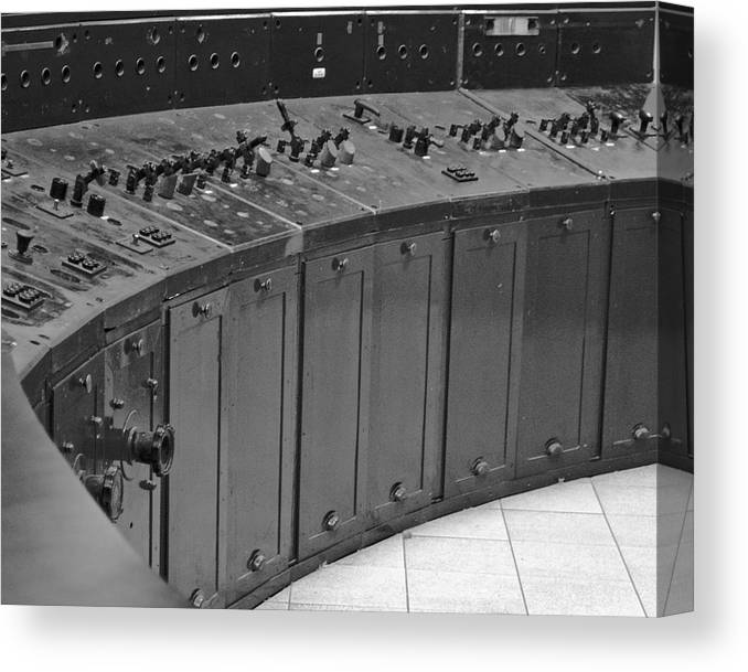 Switchboard Canvas Print featuring the photograph Command Central by Patrick Meek