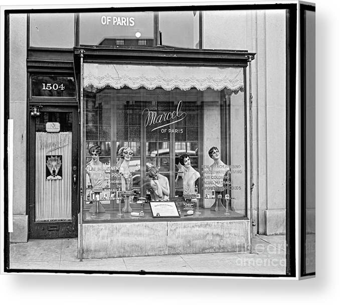 Loc Canvas Print featuring the photograph Marcel Beauty Shop by Russ Brown