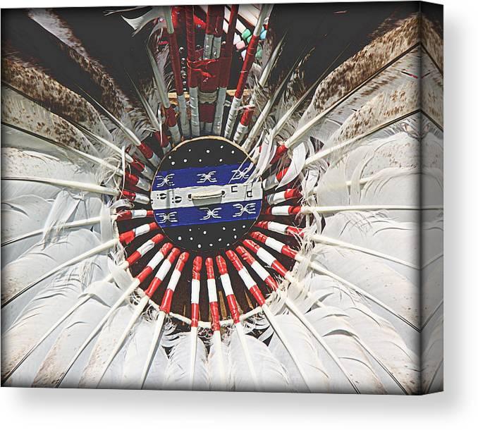 native american design 2 canvas print canvas art by tam graff