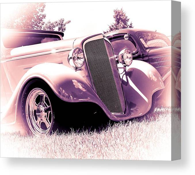 Car Canvas Print featuring the photograph Cool Ride by Perry Webster