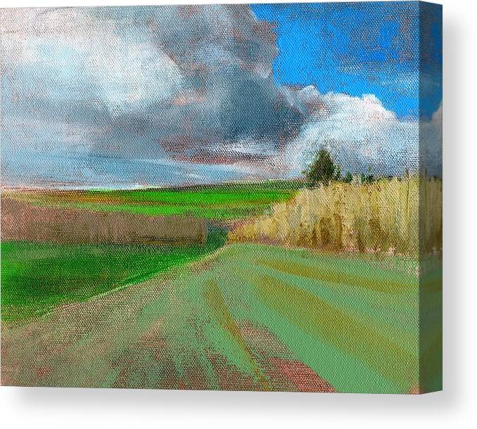 Landscape Canvas Print featuring the painting Rcnpaintings.com by Chris N Rohrbach