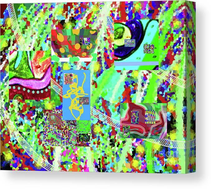 4-12-2015cabcdefghijklmnopq Canvas Print featuring the digital art 4-12-2015cabcdefghijklmnopqrtu by Walter Paul Bebirian
