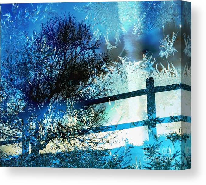 Ice Canvas Print featuring the photograph Winter Memory by Hideaki Sakurai