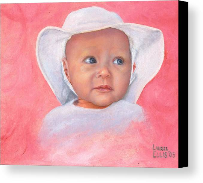 Canvas Print featuring the painting Livi by Laurel Ellis