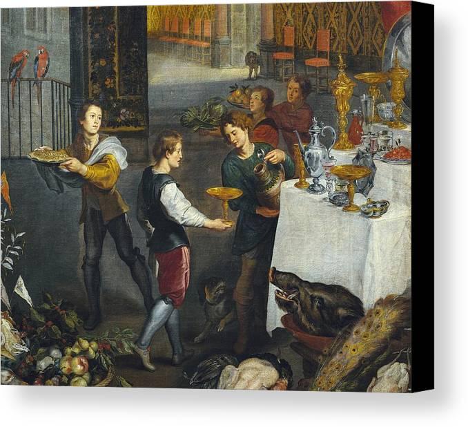 Horizontal Canvas Print featuring the photograph Breugel, Jan, The Elder, Called Velvet by Everett
