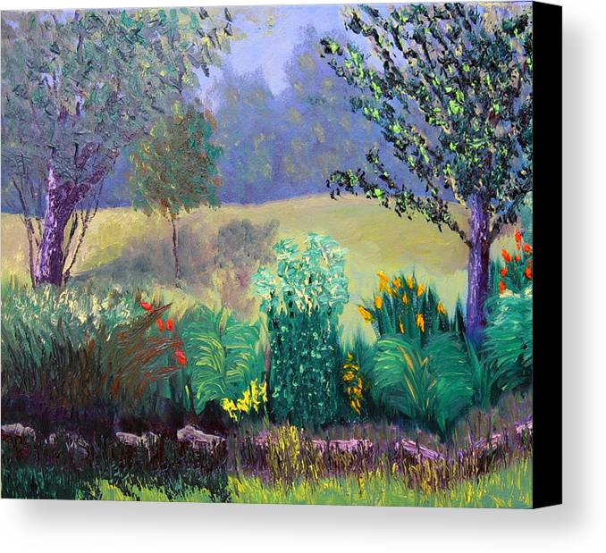 Landscape Canvas Print featuring the painting Sewp 6 23 by Stan Hamilton