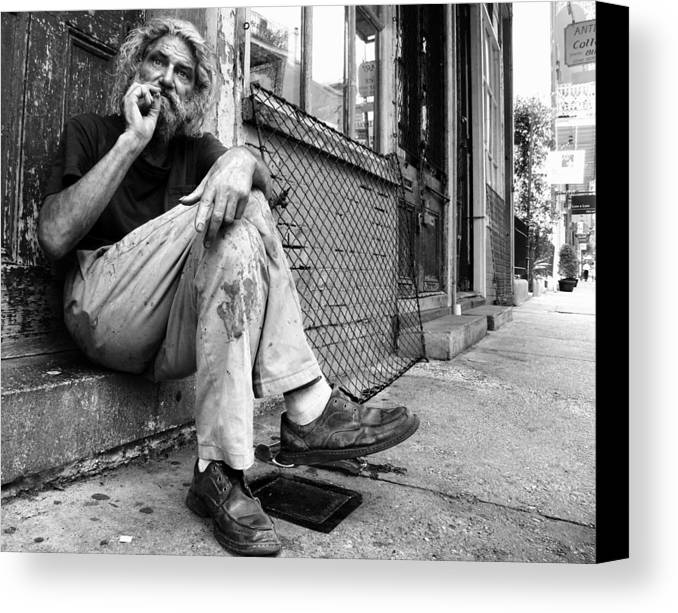 New Orleans Canvas Print featuring the photograph Stephen by Todd Fox