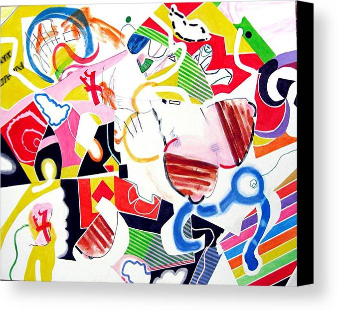 Candy Canvas Print featuring the painting Sweets by Barron Holland