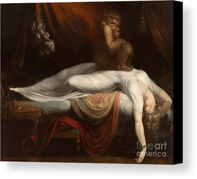 The Nightmare Canvas Print Canvas Art By Henry Fuseli