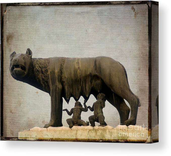 Romulus And Remus Canvas Prints | Fine Art America