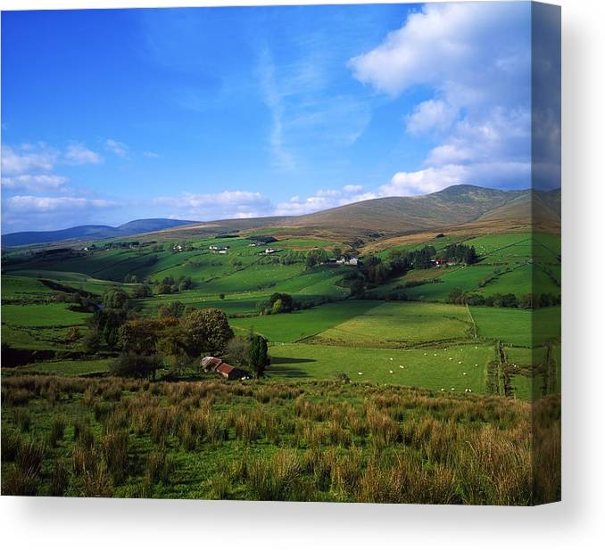Co. Tyrone Canvas Print featuring the photograph Sperrin Mountains, Co Tyrone, Ireland by The Irish Image Collection