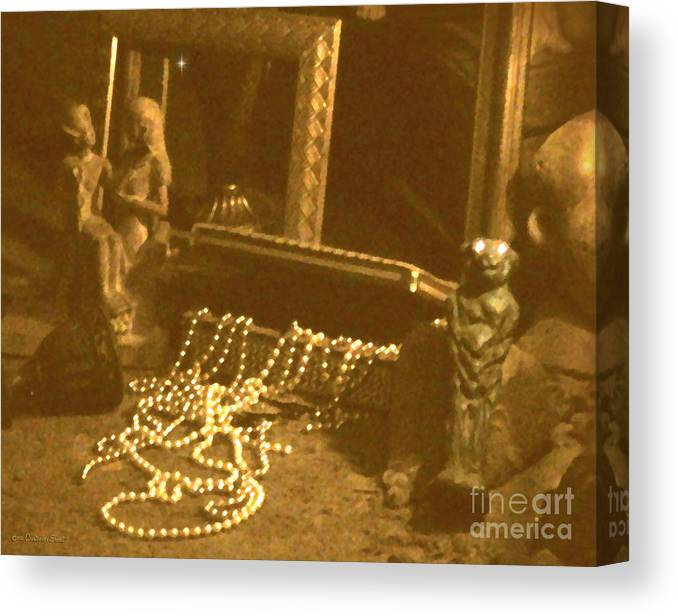 Cristopher Ernest Canvas Print featuring the photograph All That Glitters by Cristophers Dream Artistry