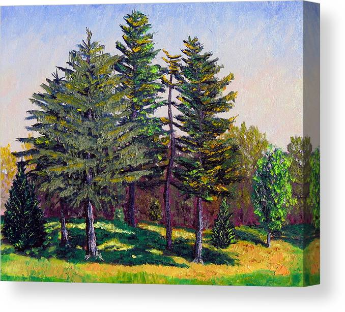Original Oil On Canvas Canvas Print featuring the painting Gp 10-12 by Stan Hamilton