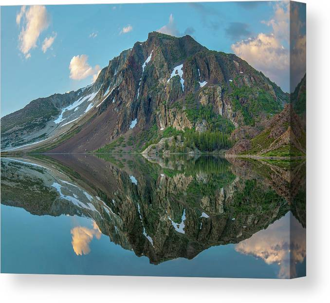 00574869 Canvas Print featuring the photograph Dana Plateau From Ellery Lake, Sierra 1 by Tim Fitzharris