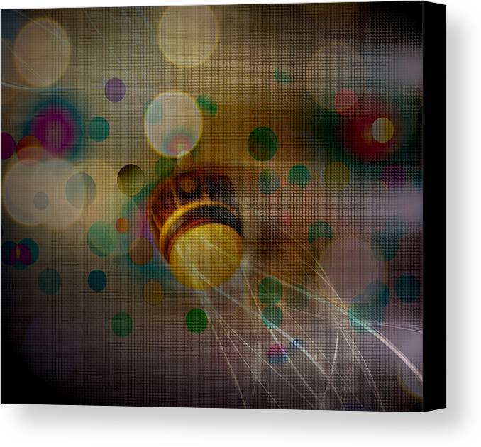 Ceiling Fan Canvas Print featuring the photograph Ceiling Fan Festival by Nanette Emerle