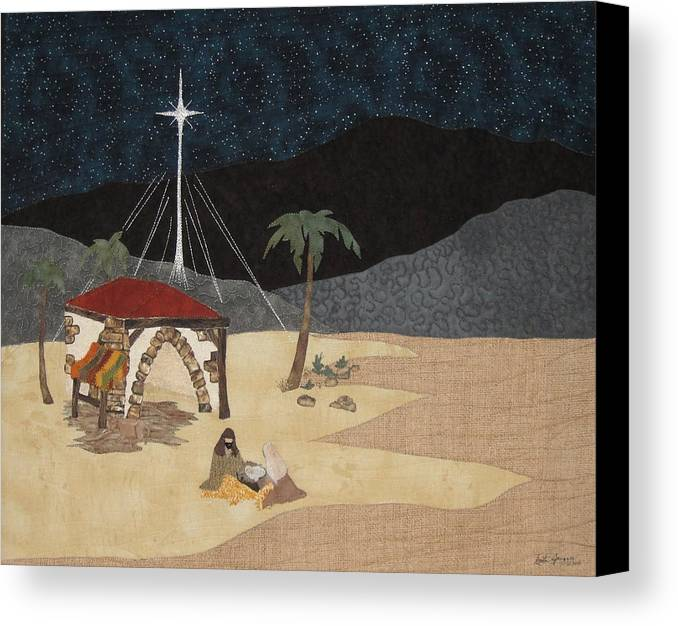 Foretold Canvas Print featuring the painting Foretold by Anita Jacques