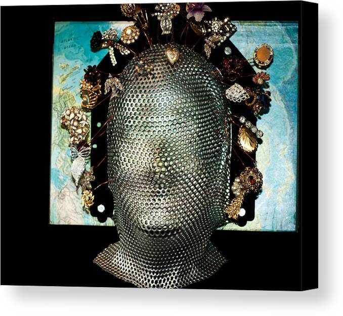 Female Canvas Print featuring the photograph Woman Of The World by Cathy Smith