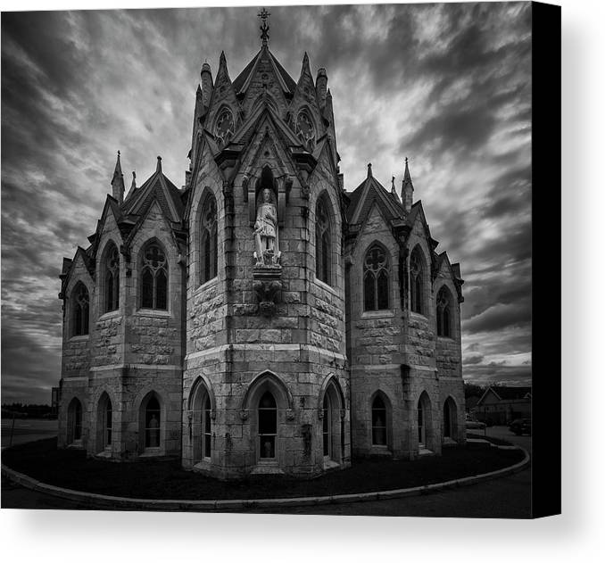 Church Canvas Print featuring the photograph Church Of Our Lady by David Hook