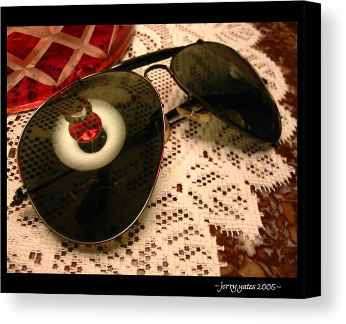 Sunglasses Canvas Print featuring the photograph Shades by Gerard Yates