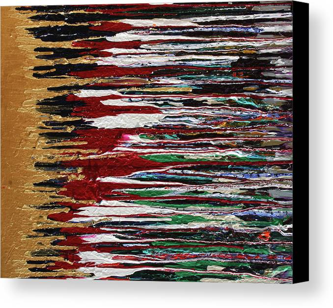 Fusionart Canvas Print featuring the painting Tears Of The Sun by Ralph White