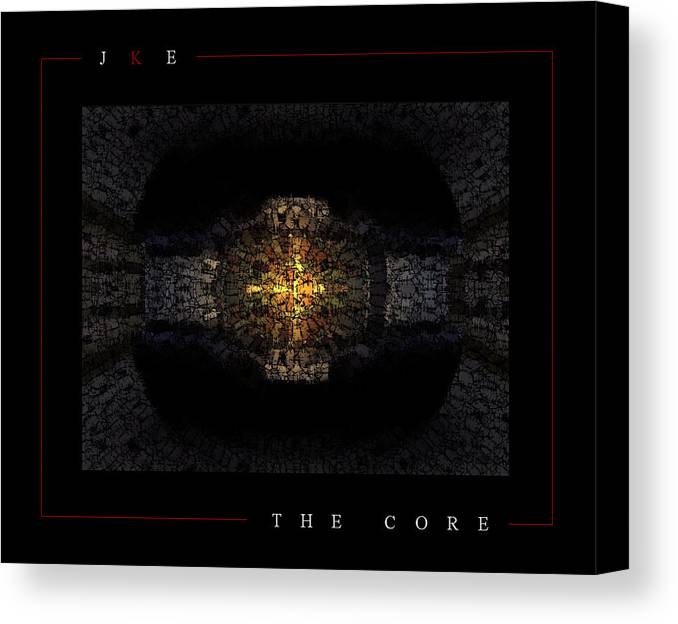 Car Canvas Print featuring the photograph The Core by Jonathan Ellis Keys