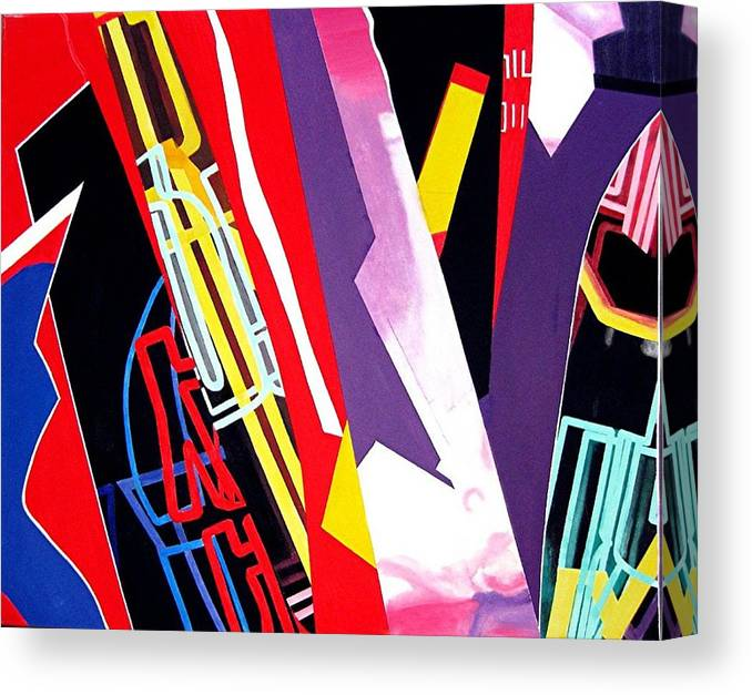 Jazz Canvas Print featuring the painting Jazz by Barron Holland