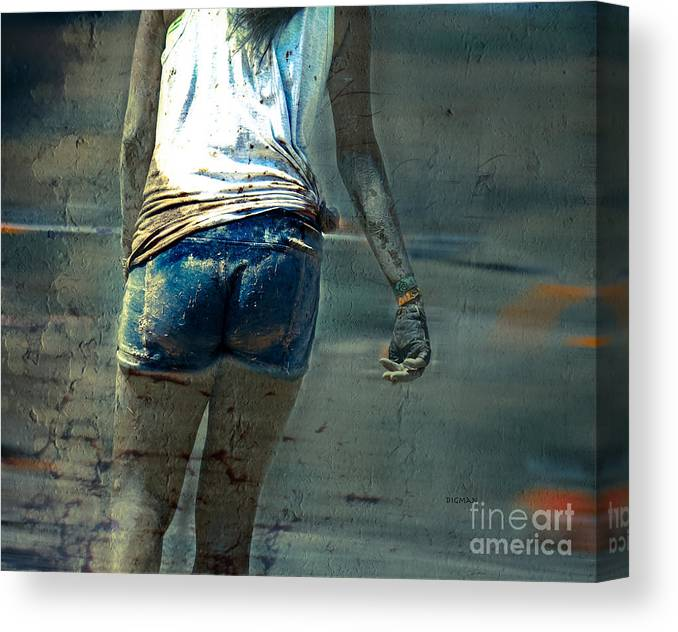 Beauty Canvas Print featuring the photograph Mud Cakes by Steven Digman
