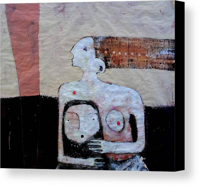 Age Canvas Print featuring the painting Aetas No 3 by Mark M Mellon