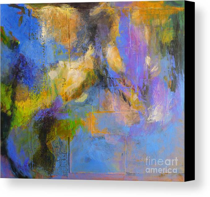 Nature Canvas Print featuring the painting Agua by Melody Cleary