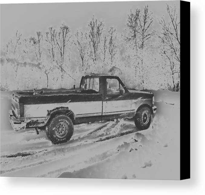 Ford Canvas Print featuring the photograph This Old Ford by Thomas MacPherson Jr
