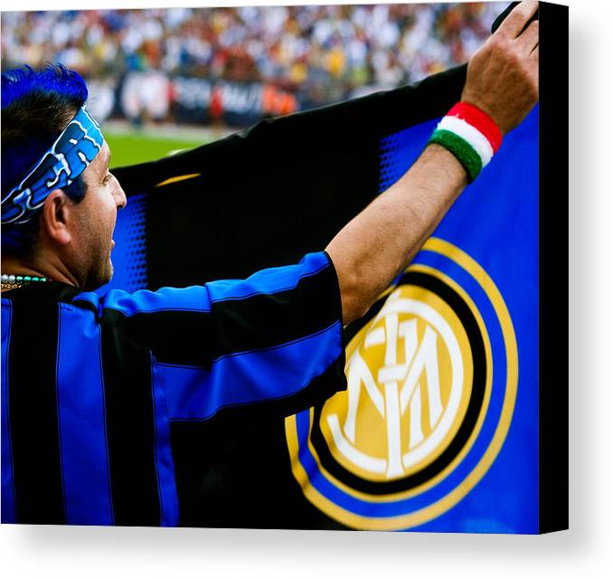 inter vs ac milan canvas print canvas art by andrew kubica