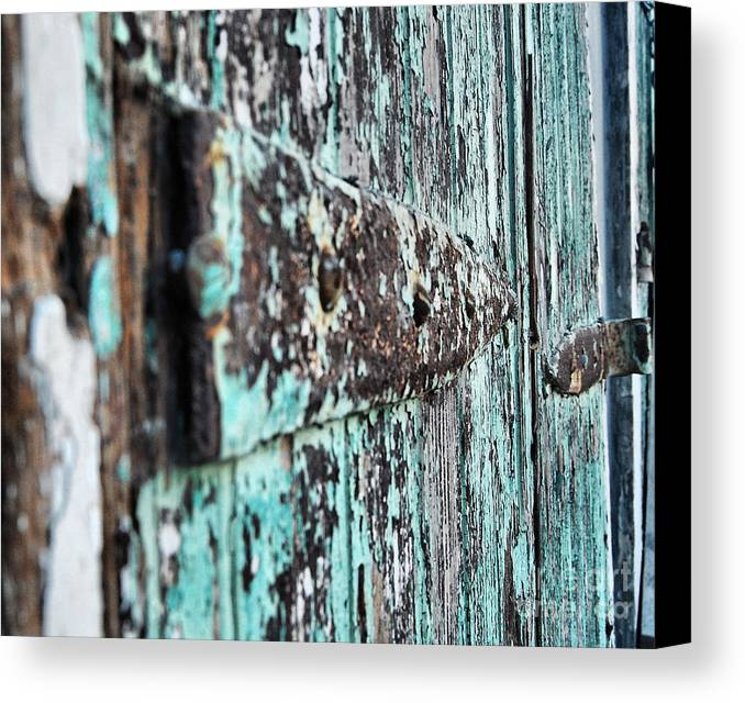 New Orleans Canvas Print featuring the photograph Worn by Jessa DeNuit
