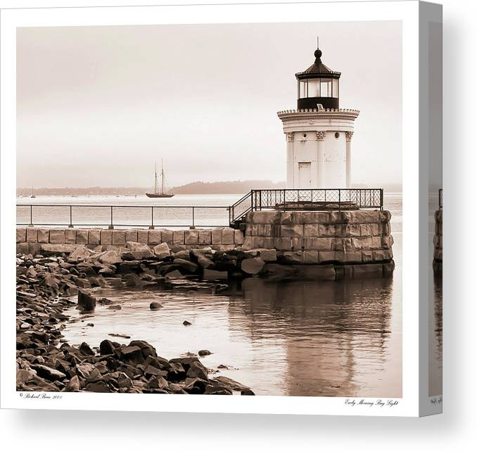 Architecture Canvas Print featuring the photograph Early Morning Bug Light by Richard Bean