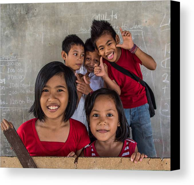 Ark Canvas Print featuring the photograph Ark Ruralkids.org by Guillaume Gauthereau