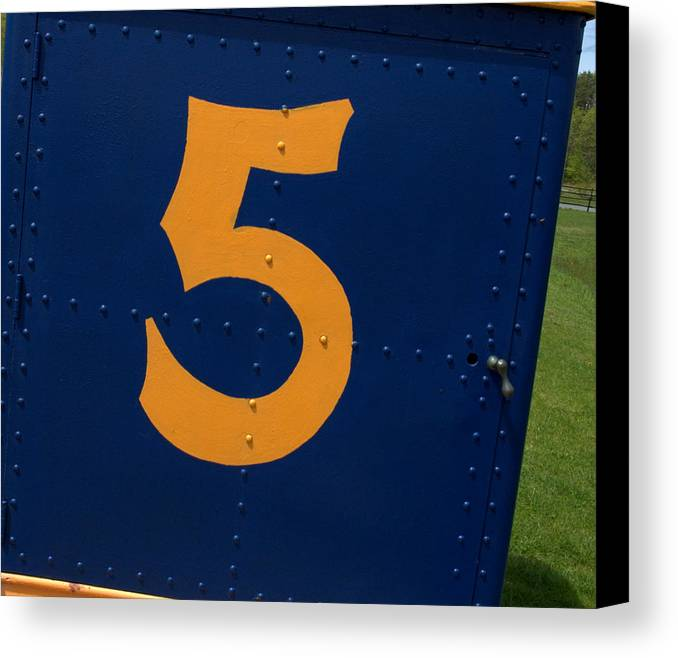 5 Canvas Print featuring the photograph 5 by Bruce Carpenter
