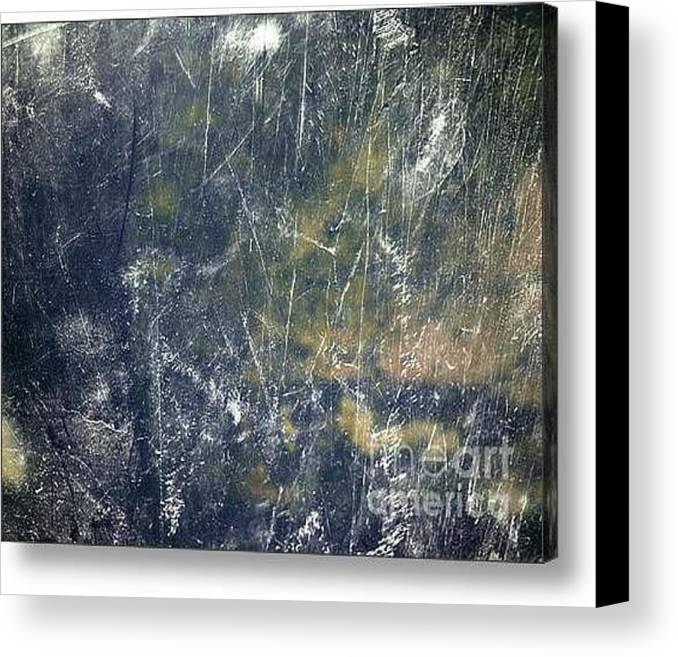 Daniel Brummitt Canvas Print featuring the digital art Noise by Daniel Brummitt