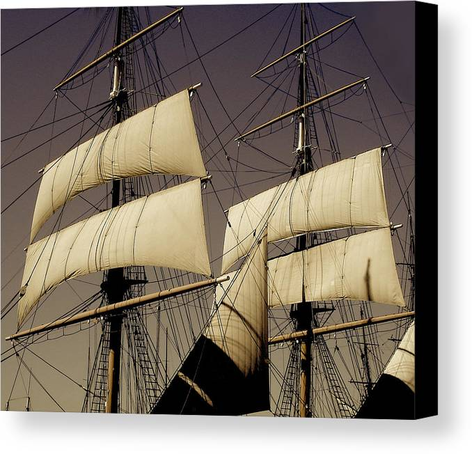 Sails Canvas Print featuring the photograph Wind by Craig Incardone