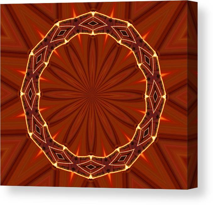 Crown Of Thorns Canvas Print featuring the photograph Crown Of Thorns by Kristin Elmquist