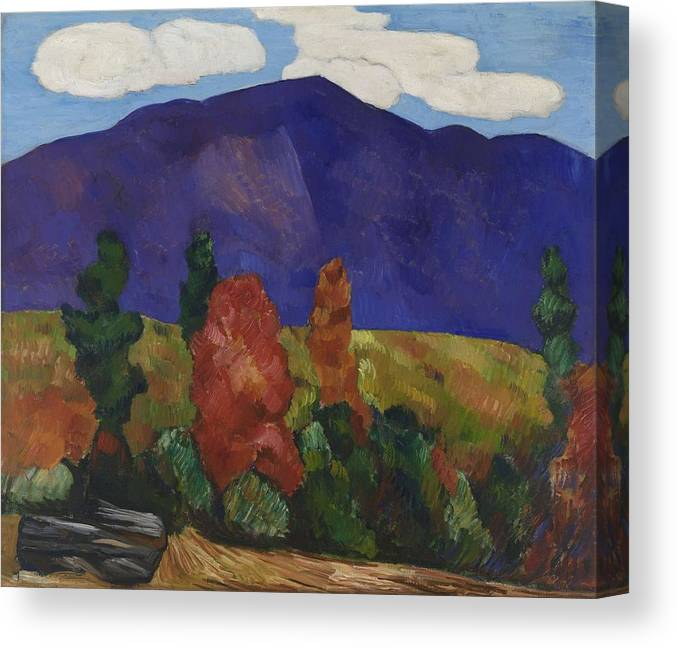 Marsden Hartley The Old Bars Dogtown Giclee Canvas Print Paintings Poster