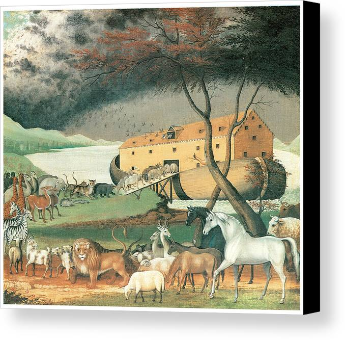 Noah's Ark Canvas Print featuring the photograph Noah's Ark by P S