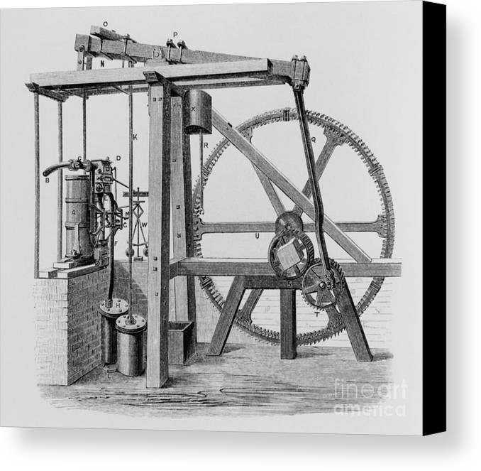 Engine Canvas Print featuring the photograph Old Bess Steam Engine by SPL and Science Source